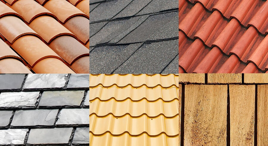 Types of roofs in Jacksonville
